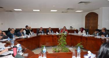 عقد المجلس العربي للمياه اول اجتماع له كرئيس لمجموعه العمل حول