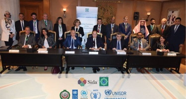 """AWC had the honor to host the Signing Ceremony of a new joint Programme """"SDG Climate Facility"""""""